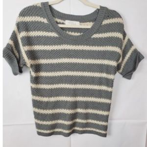 Olive & Oak Sweater Striped Size Small